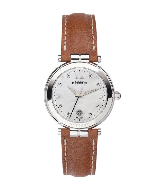 Michel Herbelin Newport dames horloge 14264/AP59GO