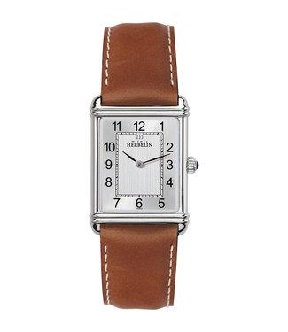 Michel Herbelin Rectangle Classique heren horloge 17468/22GO