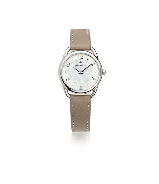 Michel Herbelin Equinoxe dames horloge 17497/29GR