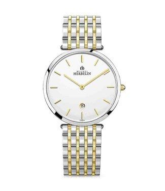 Michel Herbelin Epsilon Extra Flat unisex horloge 19416/BT11