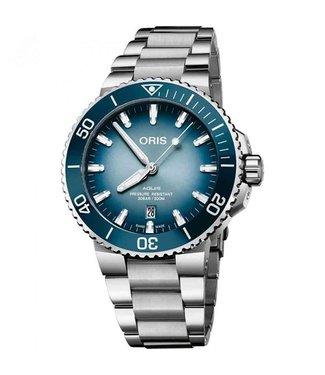 Oris Aquis Lake Baikal heren horloge Limited Edition 0173377304175-SET
