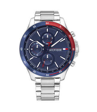 Tommy Hilfiger Bank Multifunction heren horloge 1791718