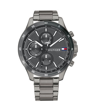 Tommy Hilfiger Bank Multifunction heren horloge 1791719