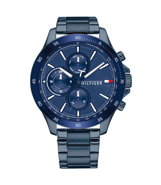 Tommy Hilfiger Bank Multifunction heren horloge 1791720