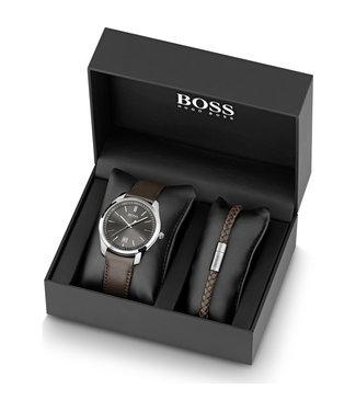 Hugo Boss Circuit heren horloge Giftset 1570083