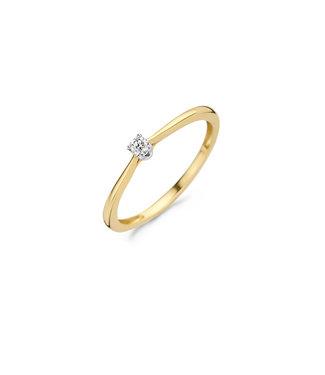 Blush Diamonds ring 14kt Diamonds 1621BDI
