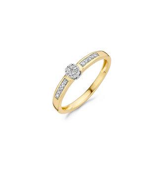 Blush Diamonds ring 14kt Diamonds 1623BDI