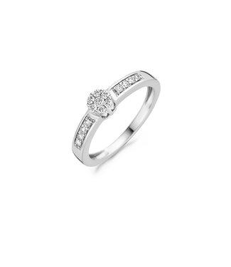Blush Diamonds ring 14kt Diamonds 1624WDI