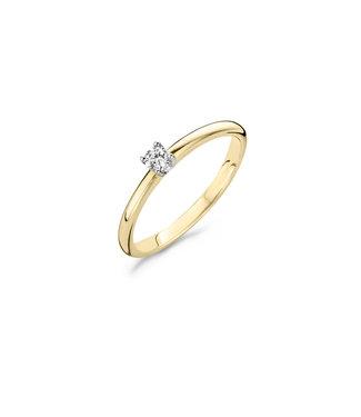 Blush Diamonds ring 14kt Diamonds 1602BDI 0.10ct