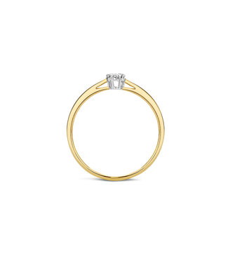 Blush Diamonds ring 14kt Diamonds 1609BDI