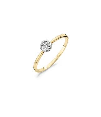 Blush Diamonds ring 14kt Diamonds 1611BDI 0.15ct