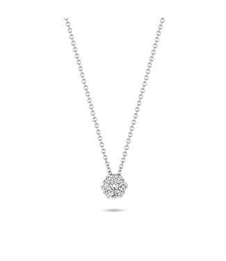 Blush Diamonds ketting 14kt Diamonds 3603WDI
