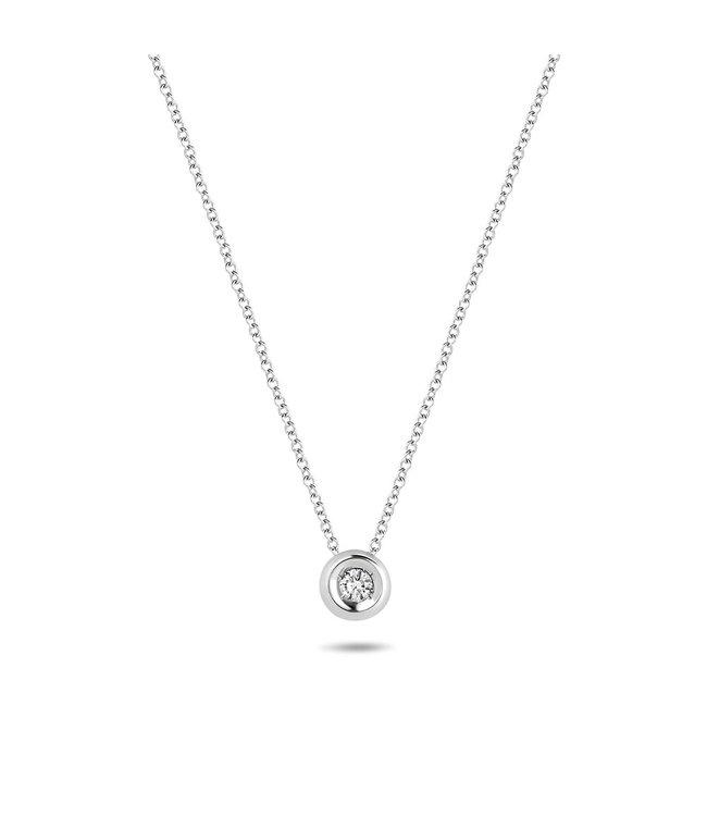 Blush Diamonds ketting 14kt Diamonds 3606WDI