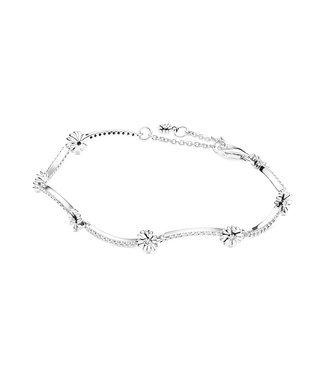 Pandora Sparkling Daisy Flower bracelet 598807C01