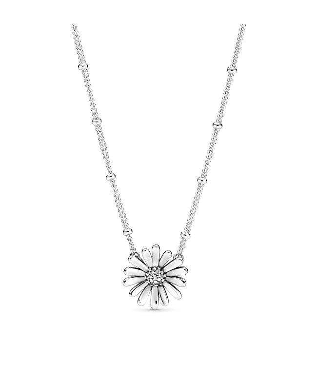 Pandora Pavé Daisy Flower necklace 398964C01