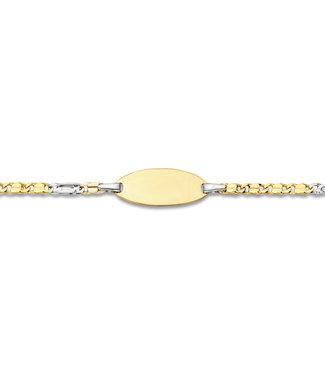 18kt armband identiteit ID0186BI