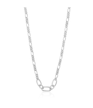 Ania Haie Chain Reaction Figaro chain necklace N021-03H