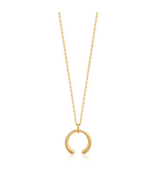 Ania Haie Luxe Minimalism - Luxe Curve necklace gold N024-03G
