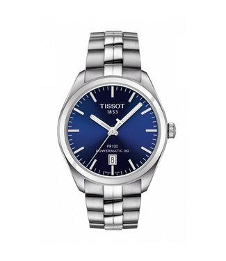 Tissot PR100 Powermatic 80 Silicium heren horloge  T1014071104100