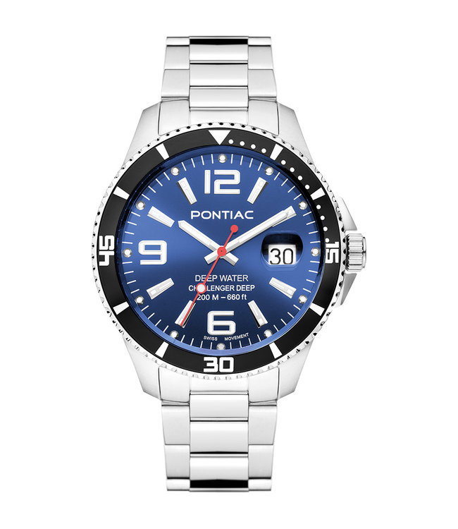 Pontiac Deep Water heren horloge P20054