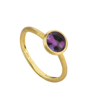 Marco Bicego ring Jaipur Amethyst AB471-AT01 Size 54