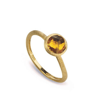 Marco Bicego ring Jaipur Yellow Quartz AB471-QG01 Size 55