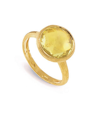 Marco Bicego ring Jaipur Lemon Citrine AB586-LC01 Size 55