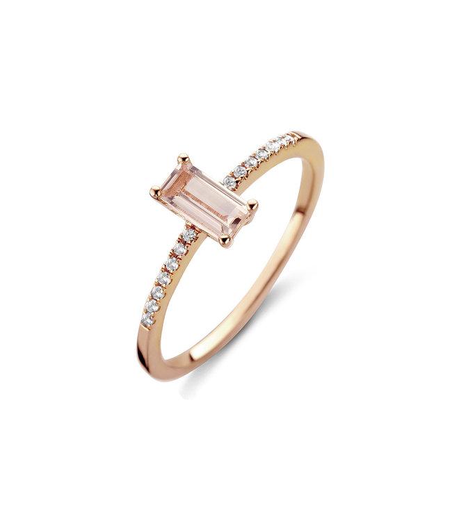 Diamanti Per Tutti ring Attraction Allure pink M1501-2S5