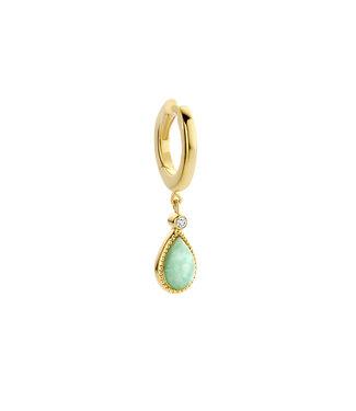 Diamanti Per Tutti Marie Marie-Antoinette single hoop earring M1686-3S4-P01