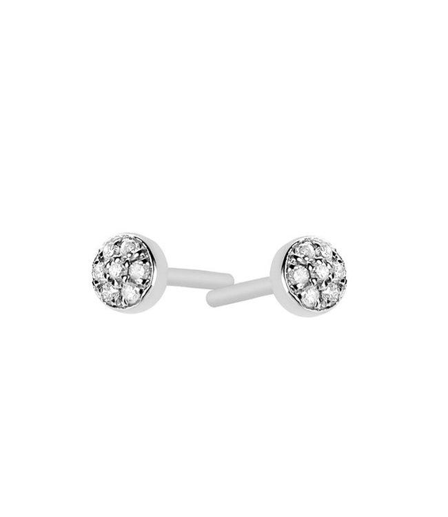 Diamanti Per Tutti oorbellen Circles First Diamond M455-1S4-P01