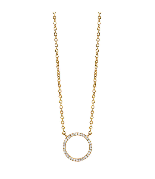 Diamanti Per Tutti ketting Small Full Circle of Life M457-3S3-S40