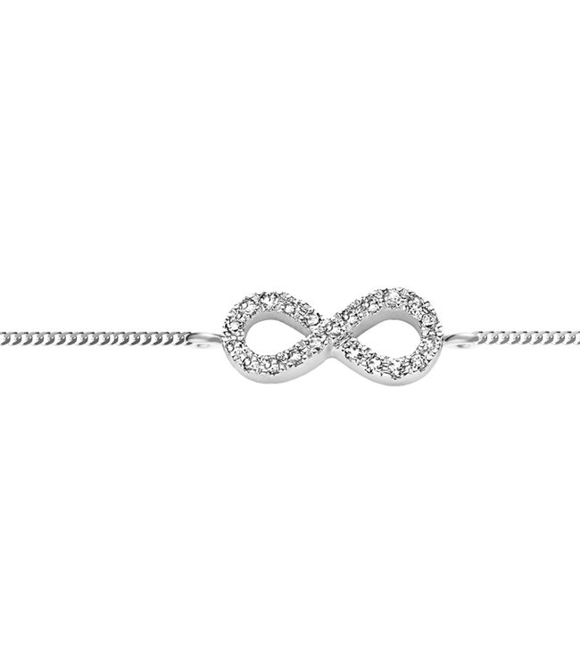 Diamanti Per Tutti armband Signs & Symbols Infinity M122-1S1-S16