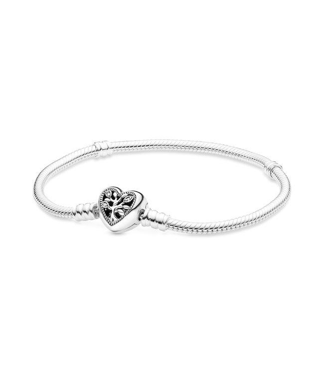 Pandora Family Tree Heart & Snake bracelet 598827C01