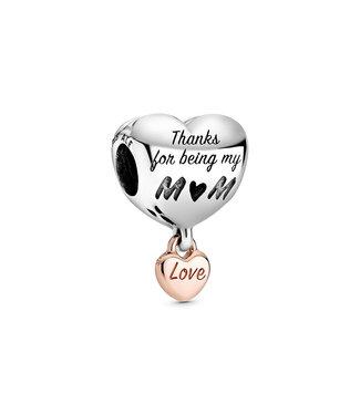 Pandora Love You Mum Heart 788830C00