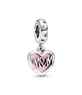 Pandora Mum Script Heart 798887C01