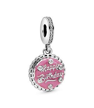 Pandora Pink Birthday Cake dangle 798888C01