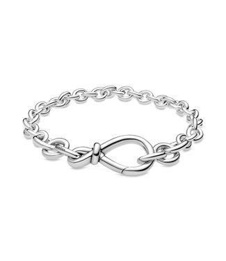 Pandora Chunky Infinity Knot bracelet 598911C00