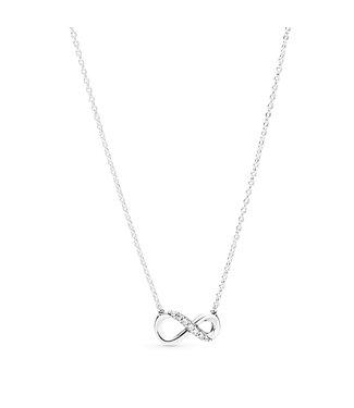 Pandora Sparkling Infinity necklace 398821C0-50