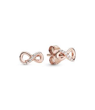 Pandora Sparkling Infinity stud earrings 288820C01