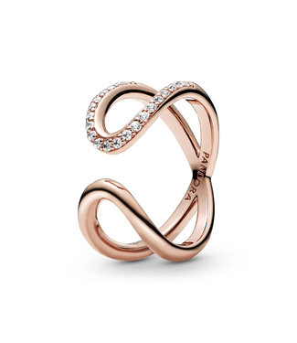 Pandora Wrapped Open Infinity ring 188882C01