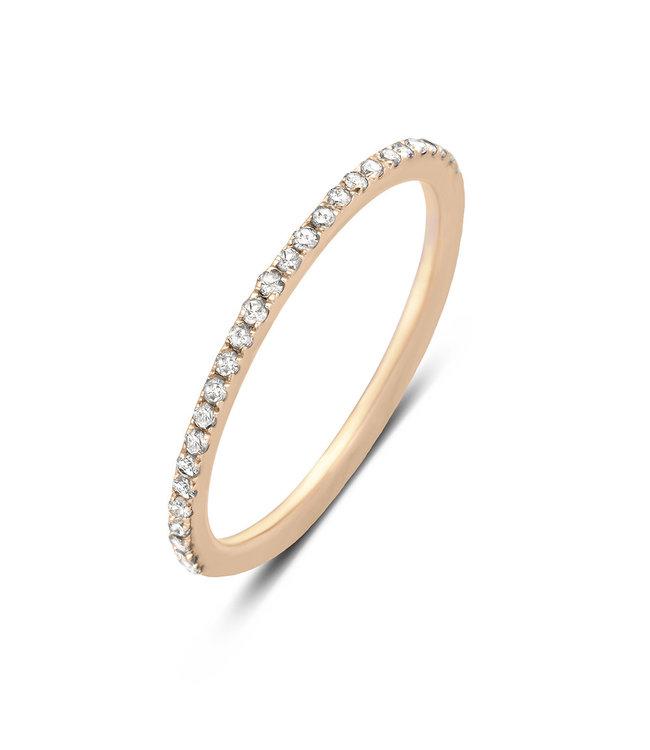 Diamanti Per Tutti ring Diamond Moon pink M347-2S5
