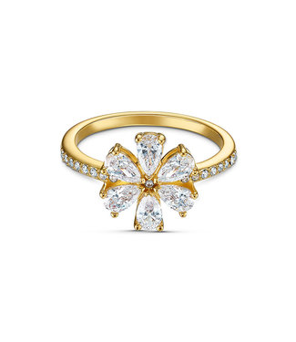 Swarovski Botanical ring Flower