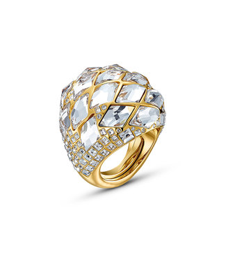 Swarovski Tropical ring Stones gold
