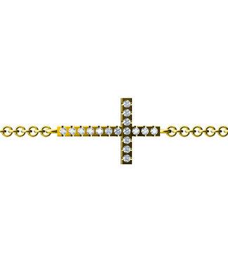Diamanti Per Tutti armband Signs & Symbols Faith M737-3S1-S16