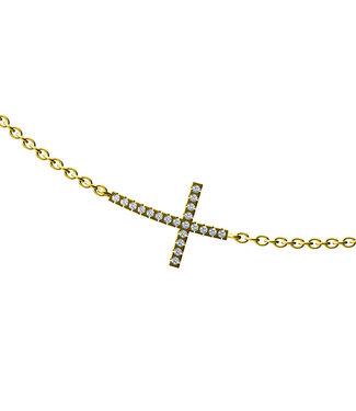 Diamanti Per Tutti ketting Signs & Symbols Faith M582-3S3-S40