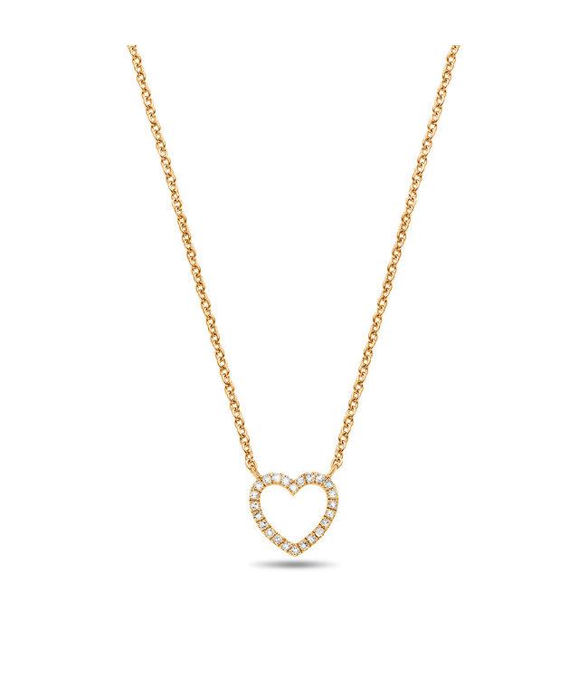 Diamanti Per Tutti ketting Signs & Symbols Heart M346-3S3-S40