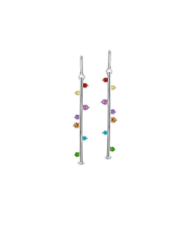 Orage oorbellen multicolor O/4745