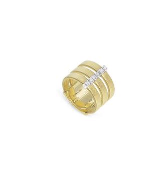 Marco Bicego ring Masai AG345-B-YW-M5 Size 55