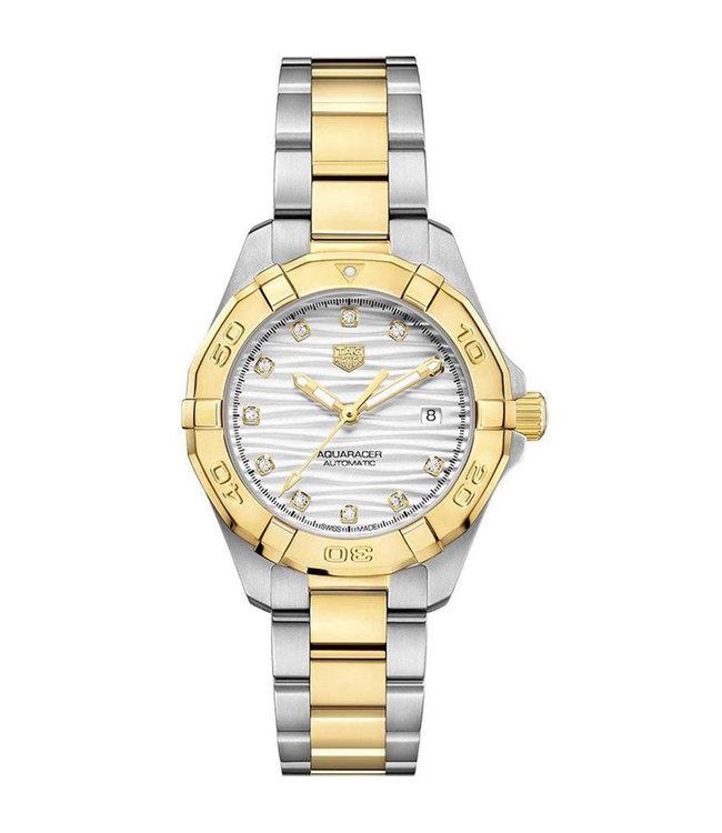 Tag Heuer Aquaracer Automatic Diamonds dames horloge WBD2321.BB0320