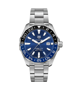 Tag Heuer Aquaracer Calibre 7 GMT Automatic heren horloge WAY201T.BA0927